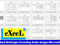 Aplikasi Bimbingan Konseling Gratis dengan Microsoft Excel