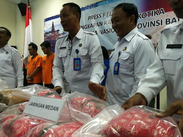Ambil Kiriman Paket Ganja 27 Kg dari Aceh, Pria ini Diamankan BNNP Bali
