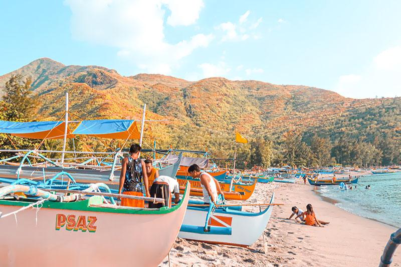 Pundaquit Beach in Zambales