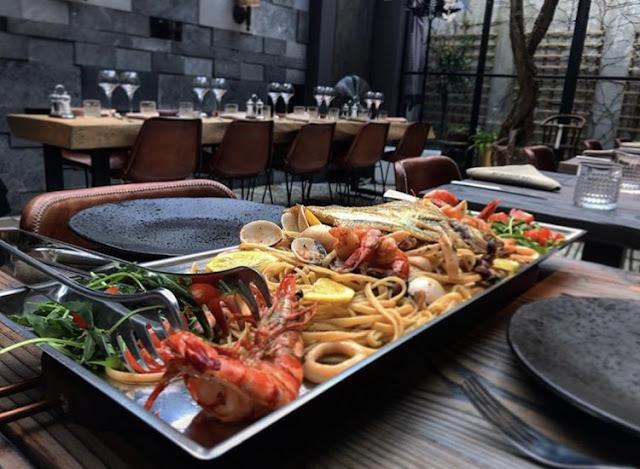 specialiteiten, vis, vlees