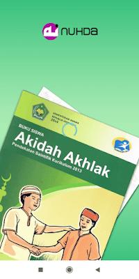Aplikasi Buku Siswa Akidah Ahlak Kelas 4 MI Kurikulum 2013 Edisi 2014