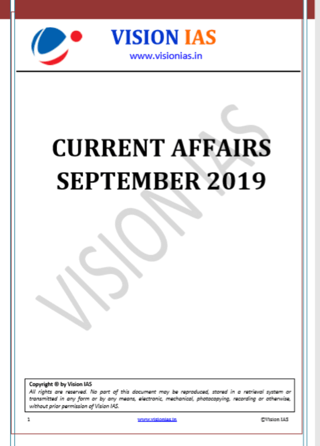 Vision-IAS-Current-Affairs-September-2019-For-UPSC-Exam-PDF-Book