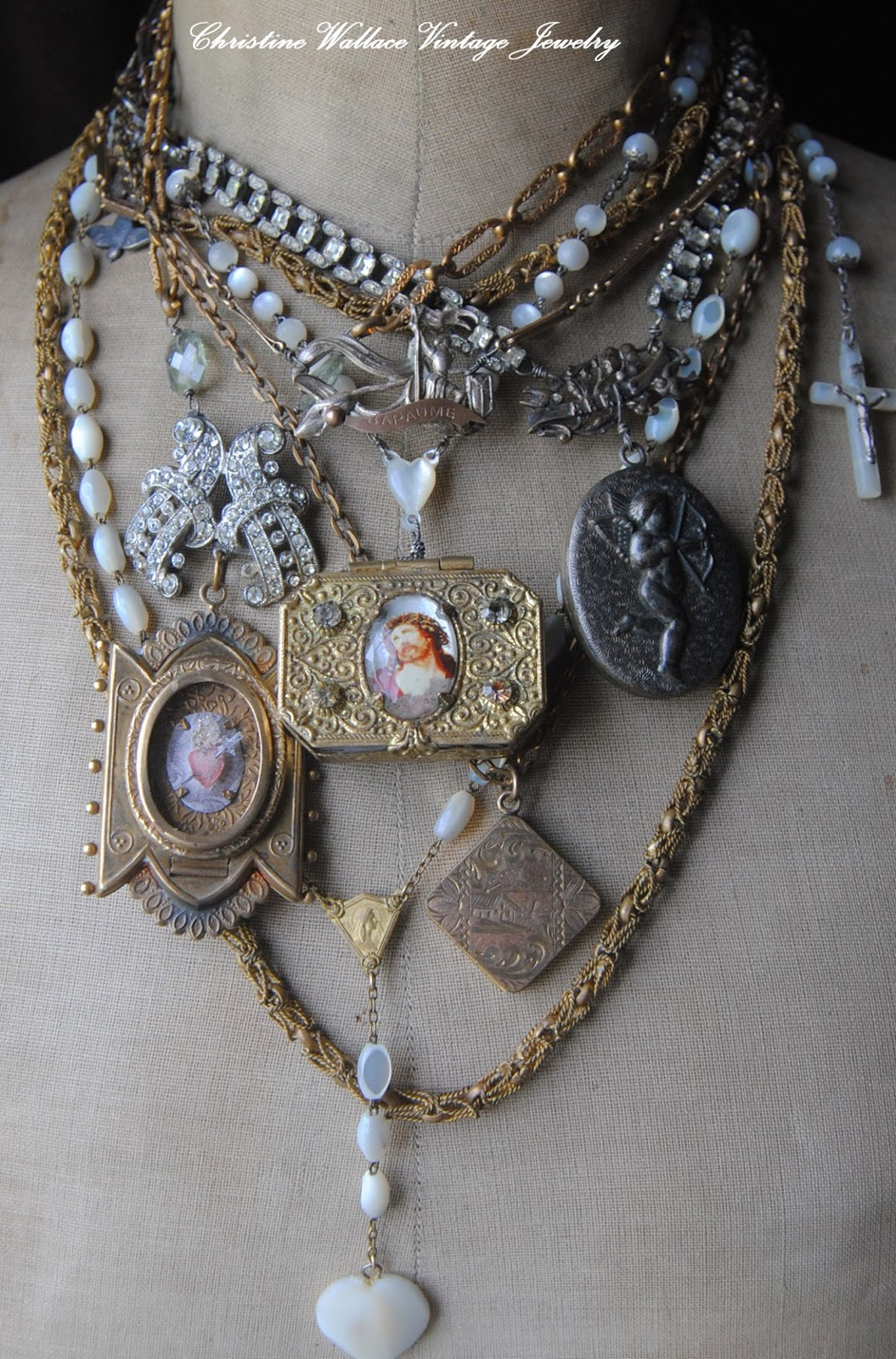 """Christine Wallace... """"Honoring Life Through Jewelry ..."""