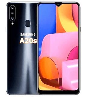 Cara Hard Reset Samsung A20s