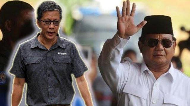 Prabowo Diprediksi Jadi Menteri Pertama yang Direshuffle, Rocky Gerung Ungkap Alasannya