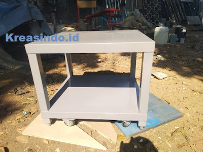 jasa meja mesin murah bahan besi