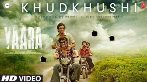 Khudkhusi Lyrics in Hindi, Rev Shergill, Yaara Hindi Movie