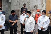 BAZNAS (Bazis) DKI Berikan Bantuan Bedah Kawasan dilokasi Bekas Kebakaran Duri Selatan