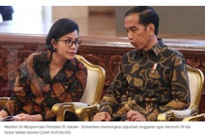 Duh, Jokowi Setuju Sri Mulyani Tunda Gaji 13 dan Tukin Juga Batal Naik