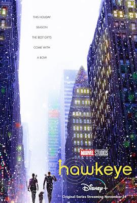 Disney+ Marvel Studios Hawkeye TV Series Poster
