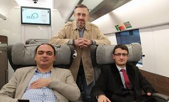 Realizan visitas mutuas entre periodistas armenios y azeríes