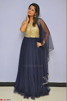 Shilpa Chakravarthy anchor and actress in anarkali dress  Exclusive 021.JPG