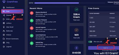شرح موقع gram free ( جرام فري ) للربح من الانترنت ومعرفة مدى صدق الموقع من عدمه - gram free Scam or not