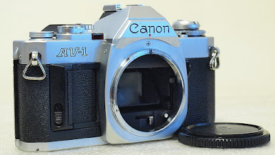 Canon AV-1 (Chrome) Body #773