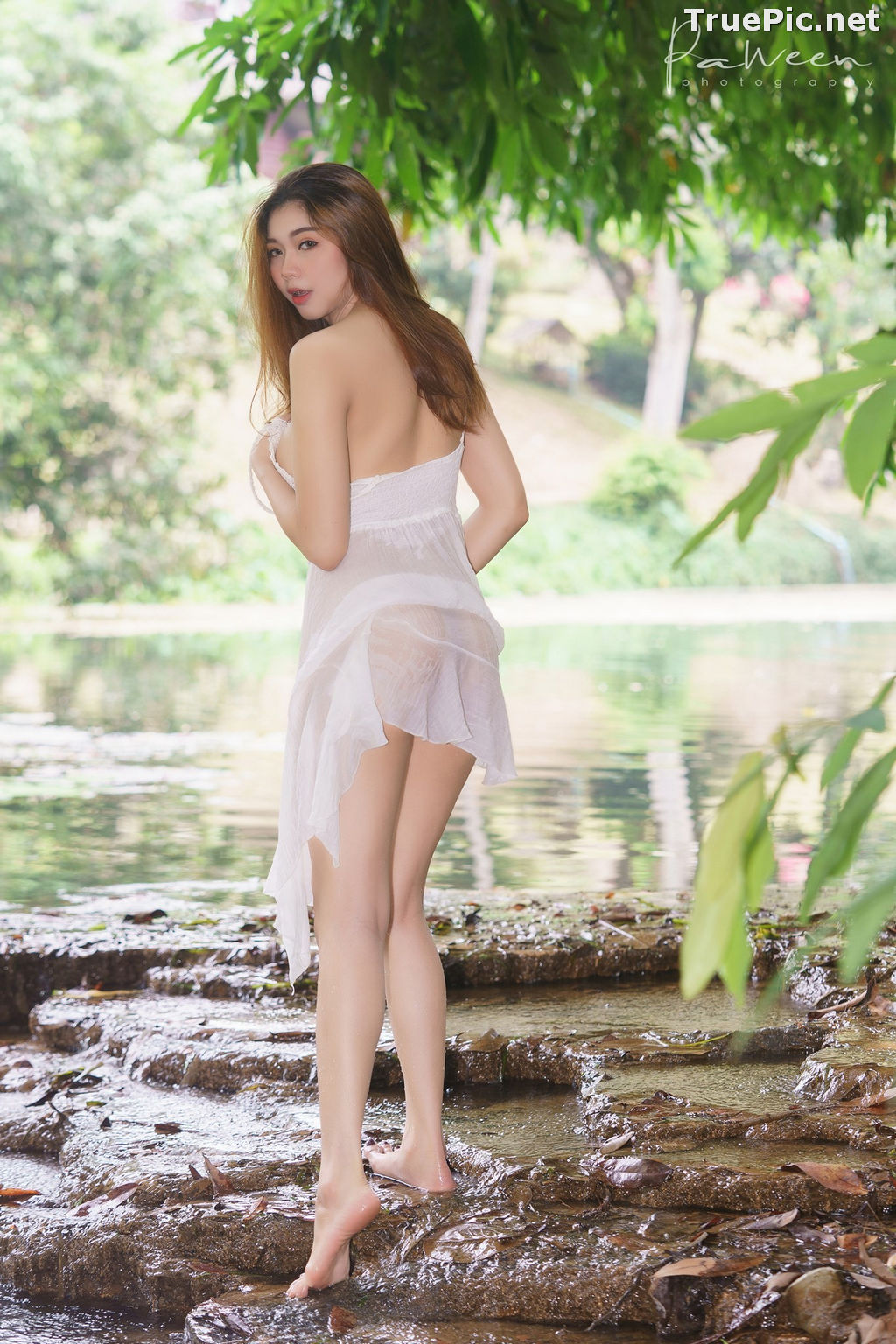 Image Thailand Model - Sirirut Thananet - Beautiful Angel and Small Stream - TruePic.net - Picture-8