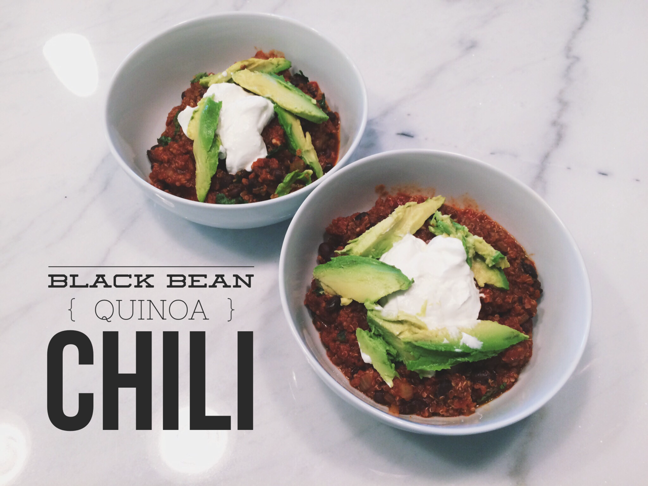 Must-Try Recipe: Slow Cooker Black Bean-Quinoa Chili - BKCsquared