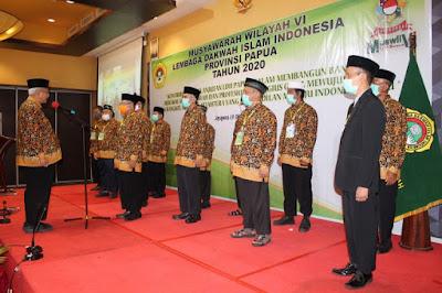 Sugiono Secara Aklamasi Terpilih Sebagai Ketua DPW LDII Provinsi Papua