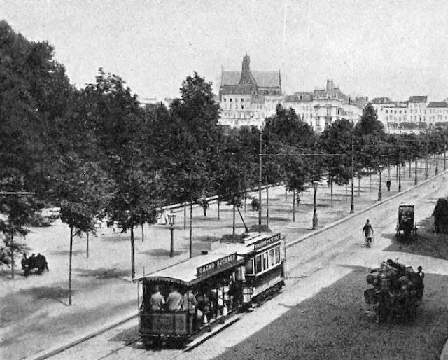 Le blog de callisto les tramways urbains 1930 2 2 for Boulevard du jardin botanique 20 22