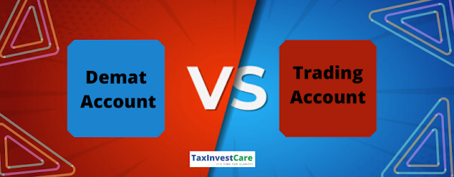diffrence between demat and trading account