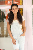 Mishti Chakraborty in lovely Jumpsuit and crop top at Wings Movie Makers Production No 1 movie launch ~  Exclusive 35.JPG