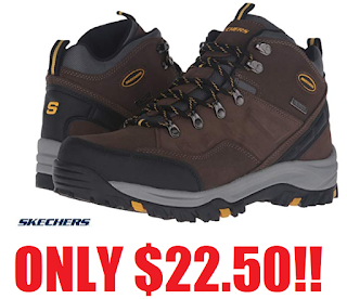 Fundir contaminación Privilegio  Skechers Men's Relment Pelmo Chukka Boots Only $22.50 + Free Shipping With Amazon  Prime or Just add $2.50 to order to get Free Shipping & Free Return  Shipping On All Orders - HEAVENLY STEALS