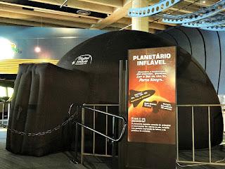 Planetário Inflável (Museu de Ciência e Tecnologia da PUCRS)