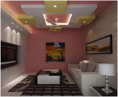 false ceiling POP design for living  2016