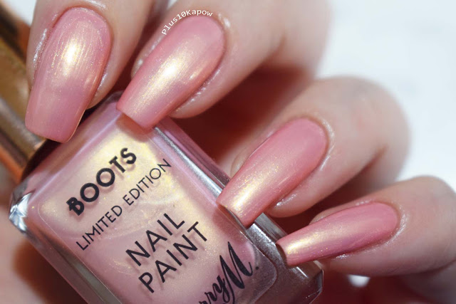 Barry M Boots Limited Edition Nail Paints Carriage Awaits and Kingdom Come Swatches