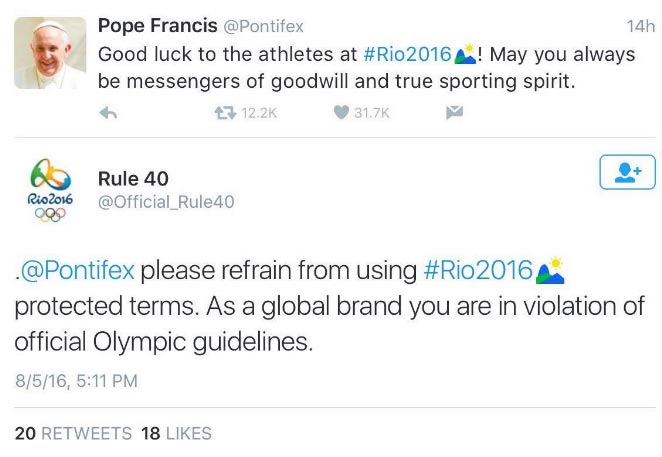 For tweeting rudely at Pope Francis, Twitter user gets his account banned