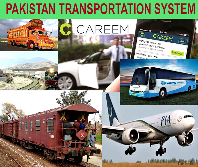 Pakistan transportation system   What is the way of travel in Pakistan