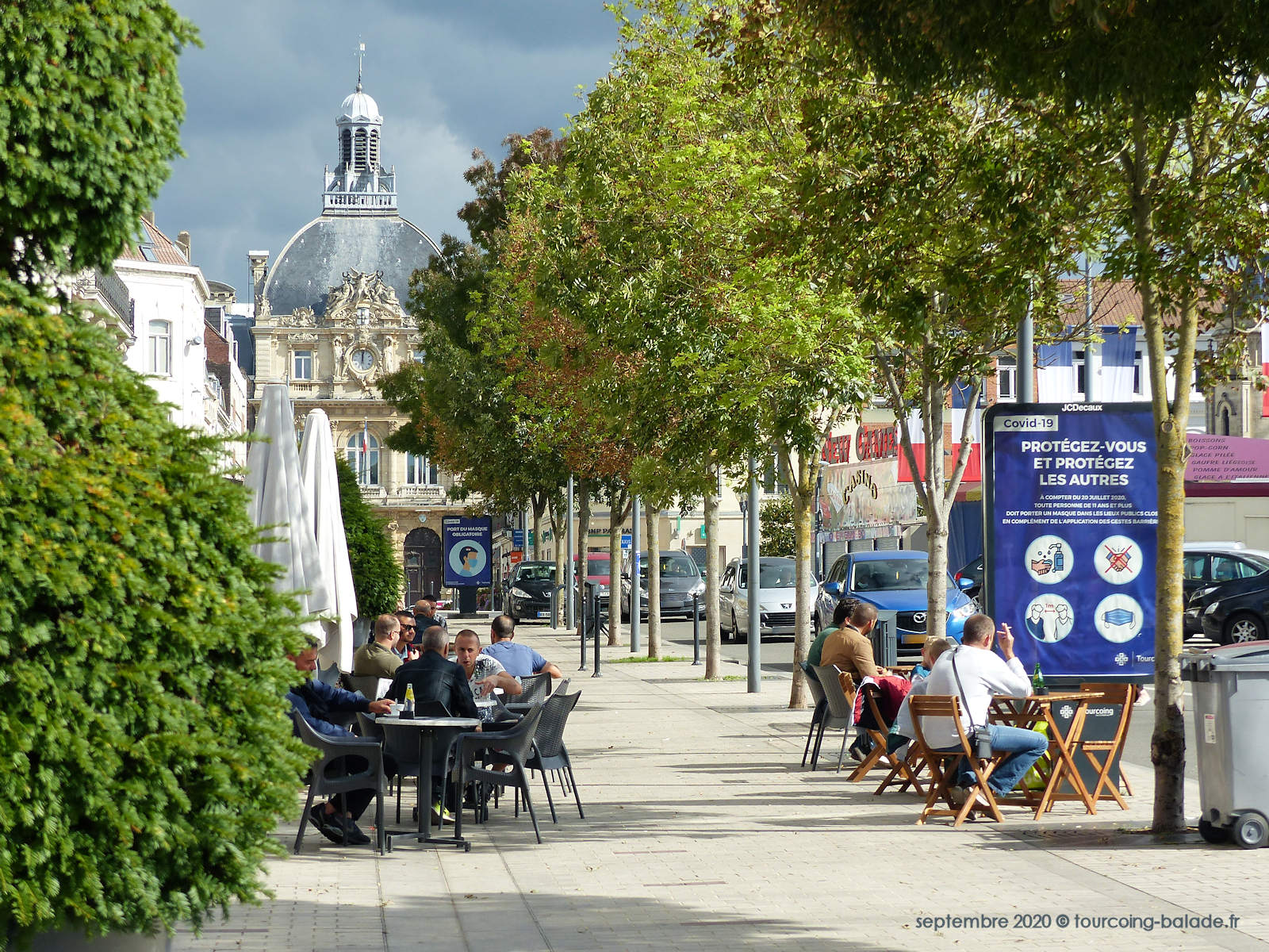 Photographies de Tourcoing 2020, Place de la République