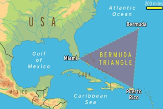 USO map of the Bermuda Triangle.
