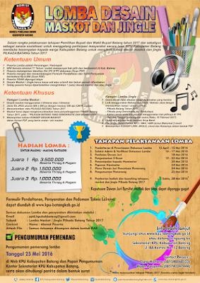 Event: Batang | 15 April - 28 Mei 2016 | Lomba Desain Maskot Dan Jingle Pilkada Kabupaten Batang Tahun 2017