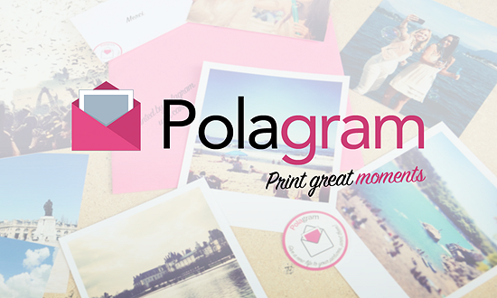 A screenshot of the polagram logo