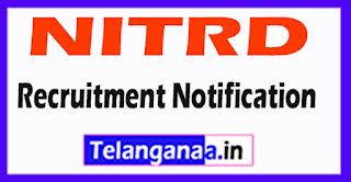 NITRD National Institute of Tuberculosis and Respiratory Diseases Recruitment Notification 2017