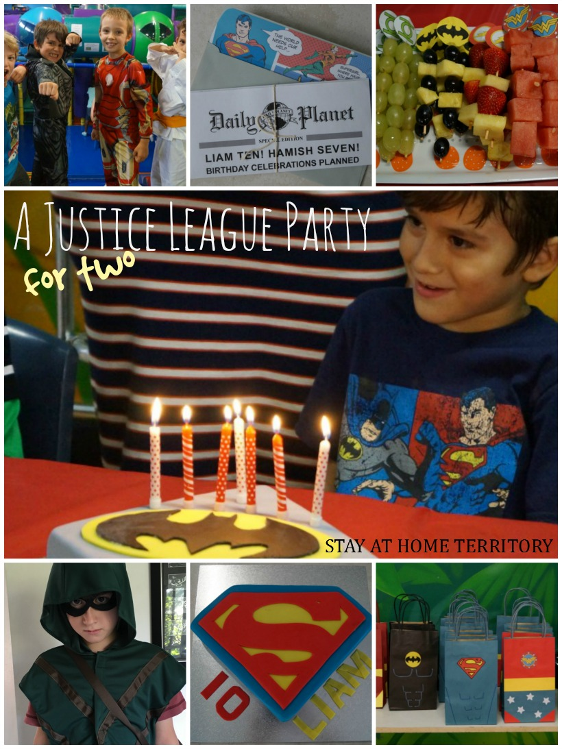 justice for girls birthday party