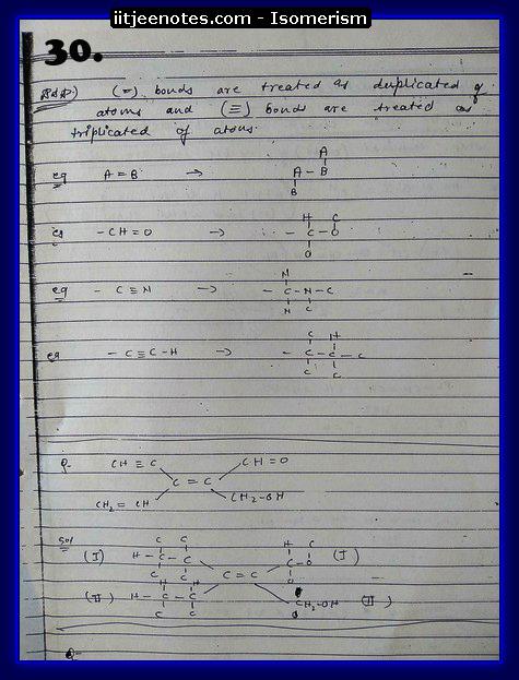 Isomerism Notes13