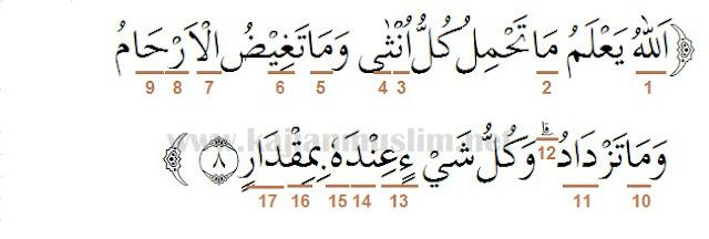 Hukum Tajwid Dalam Al-Quran Surat Ar-Ra'd Ayat 1