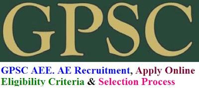 GPSC AEE. AE Recruitment Notification 2016 Apply Online