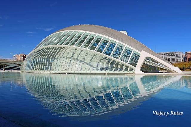 El Hemisfèric, Ciudad de las Artes y las Ciencias, Valencia