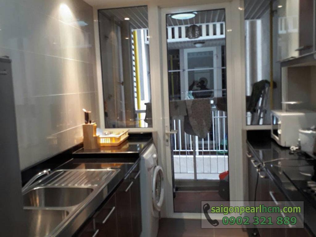 Saigon Pearl R2 lầu cao cho thuê 2 phòng ngủ full nội thất - hình 5