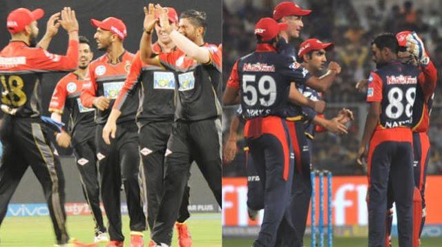 RCB vs DD IPL 2018