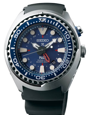 SEIKO Kinetic GMT Diver