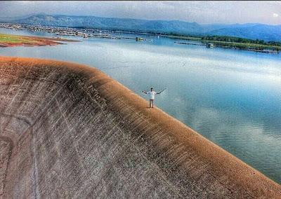 Bendungan Way Rarem di Lampung Timur