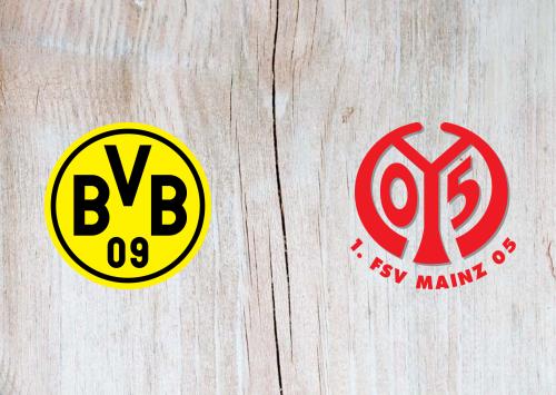 Borussia Dortmund vs Mainz 05 -Highlights 17 June 2020