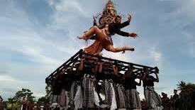 Semarak Tahun Baru Caka di Bali Sementara ini Tanpa Ogoh-ogoh