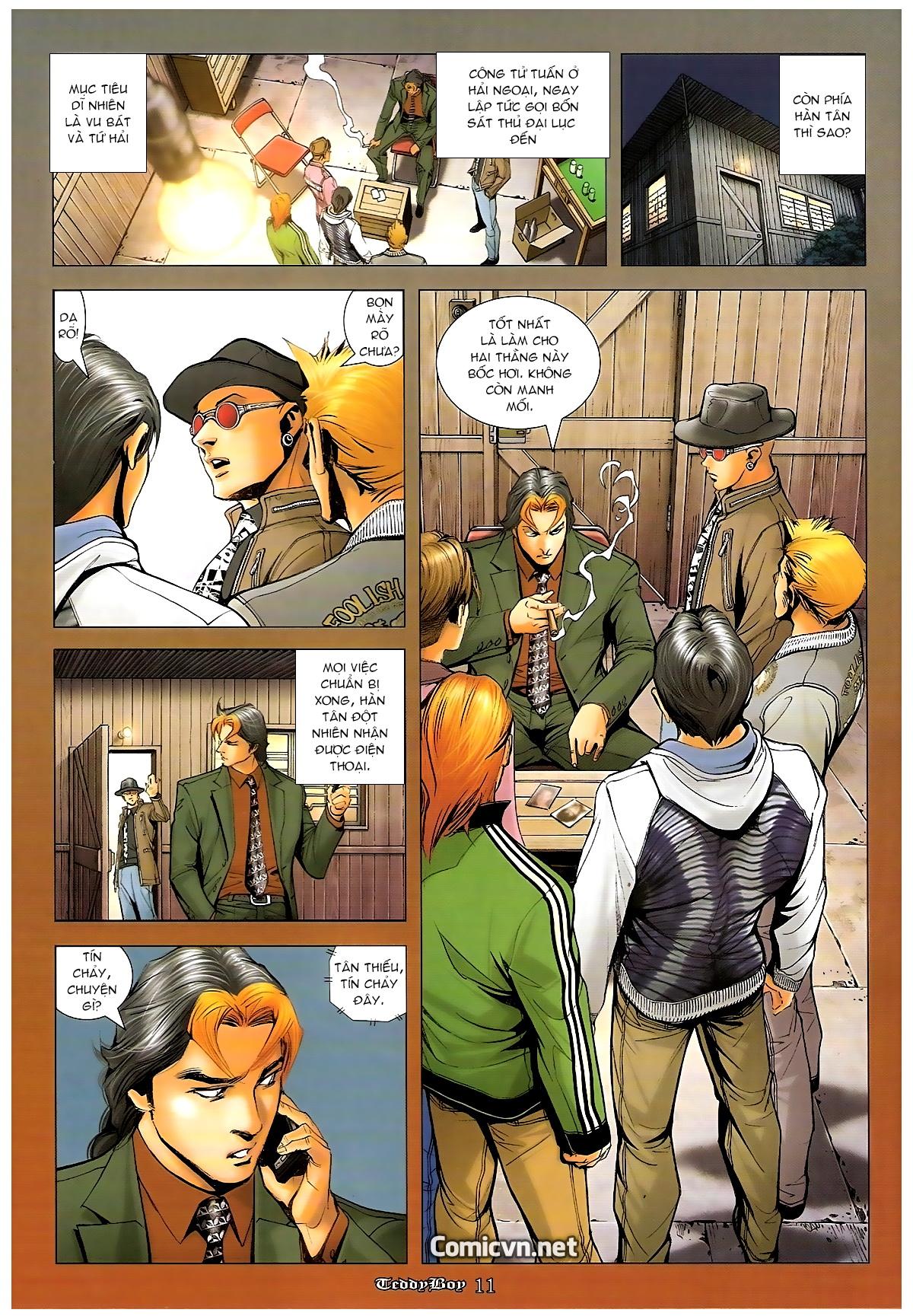 Người Trong Giang Hồ - Chapter 1263: Mua mạng Ngũ Hổ - Pic 9