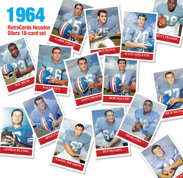 Topps, 1964 Philadelphia football cards, custom cards