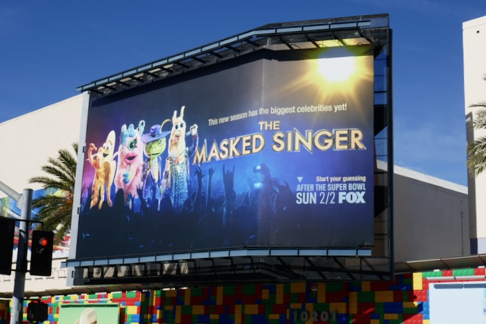 Masked Singer season 3 billboard