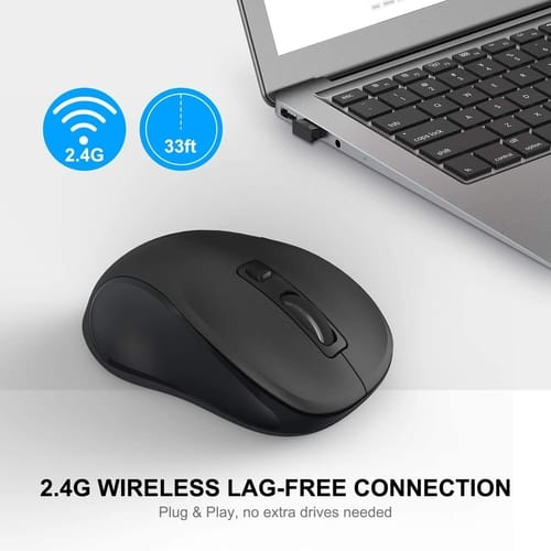 Review WisFox 2.4G Wireless Mouse for Laptop